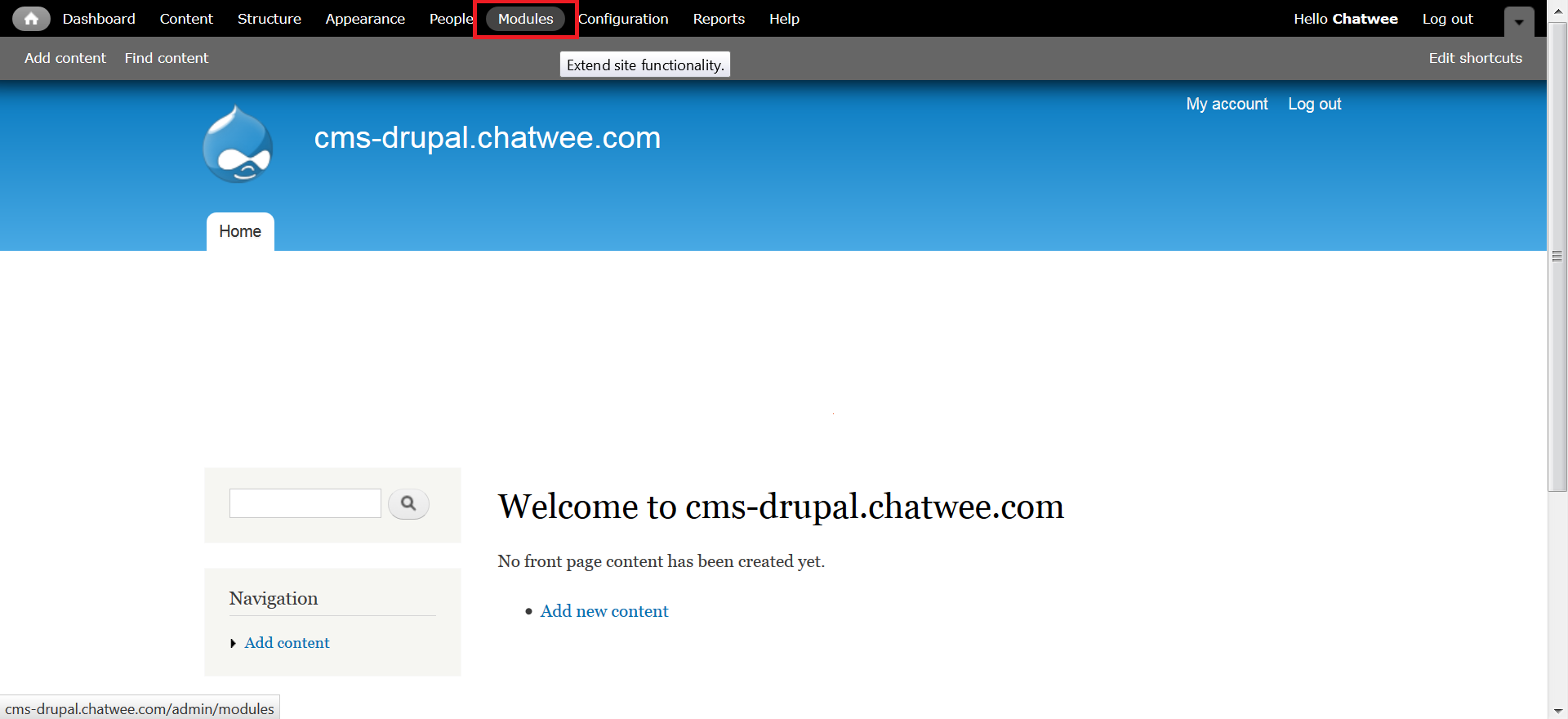 Drupal Chat Extension